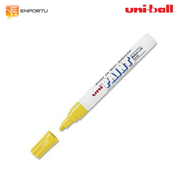 UNI Ball Uni Paint Permanent Marker PX-20-Yellow