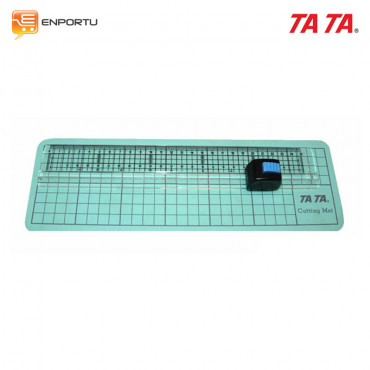 Jual TA TA Ruler & Cutter 25cm RC-2 (with Cutting Mat)