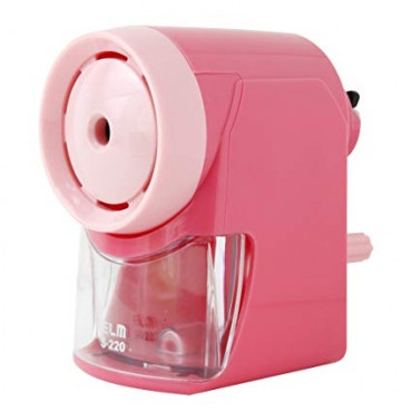ELM Pencil Sharpener S-220 Pink