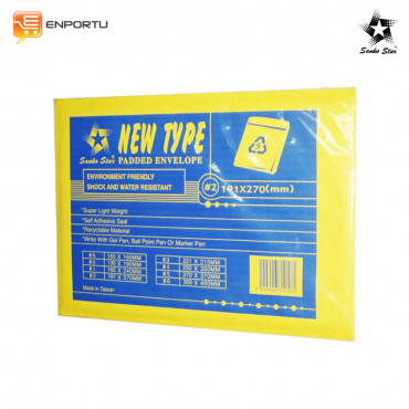 Jual SANKO STAR Water-proof Anti-shock Amplop #2 (191x270mm)