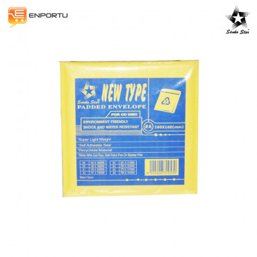 Jual SANKO STAR Waterproof Anti-shock Amplop #A (160x160mm) for CD