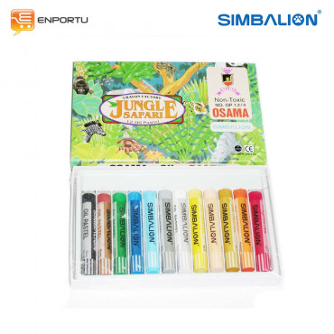 Simbalion Oil Pastel Jungle Paper case OP 12W