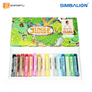 Simbalion Oil Pastel Jungle Paper case OP 16W