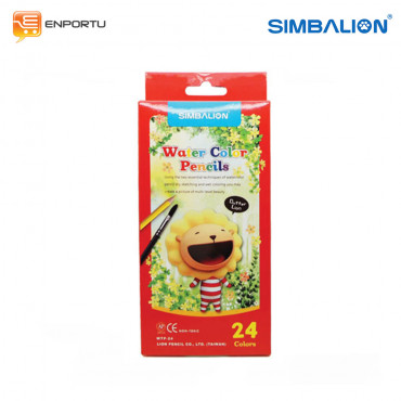 Simbalion Water Color Pencil 24C WTP-24A