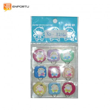 Soundy Mini Paper Clip RO-3216 (9 pcs)