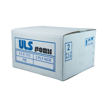 ULS Continuous Form 9.5 x 11/2 NCR - 2ply