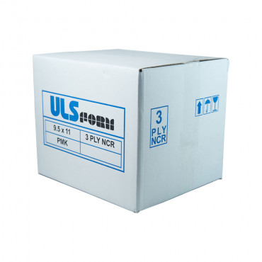 ULS Continuous Form 9.5 x 11 NCR - 3ply
