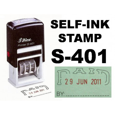Shiny Stempel PAID S-401