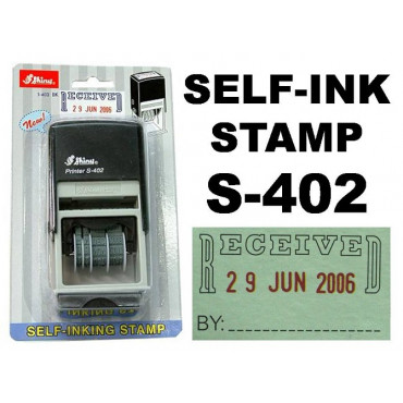 Shiny Stempel RECEIVED S-402