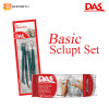 Paket DAS Sculpt Basic Set White - 500 gr